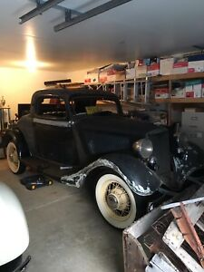 1933/1934 Ford 3 window coupe parts