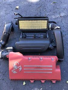 Fiat 500 Abarth engine cover air box