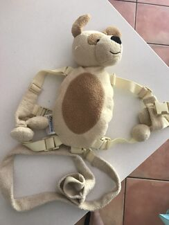 Kids teddy bear backpack with reins