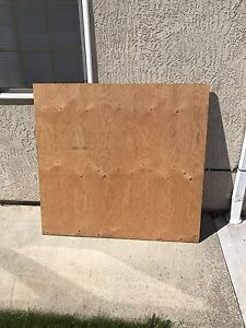 Half Sheet 5/8 Plywood