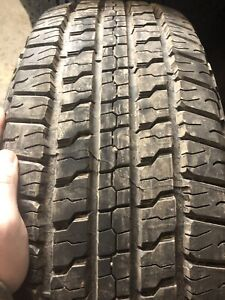Four 265/65/18 Goodyear NEW