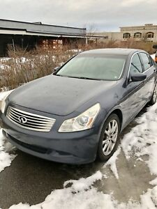 2009 INFINITI G37X-S AWD IN EXCELLENT CONDITION FOR SALE