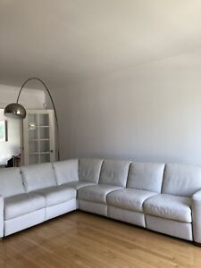 Sofa/causeuse/sectionnel blanc Italsofa