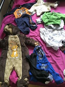 $50 Used Baby Boy Clothes Lot 3-6/6 months