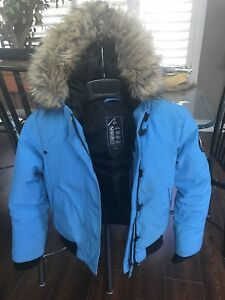 Kids size Med Alpinetek Down Filled Bomber Jacket