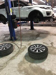 Tire change and Alignment