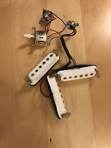 Fender Squier Classic Vibe Strat pickup assembly