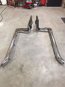 Hooker Big Block Headers and Side pipes