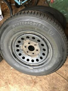 P245/70R17 Firestone Winterforce near brand new