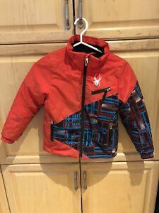 Spyder ski jacket and pants size 6