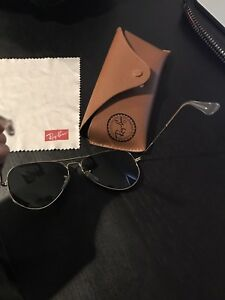 Gold Outlined Aviator RayBans