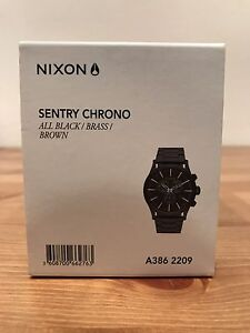 Nixon Sentry Chrono Cronulla Sutherland Area Preview
