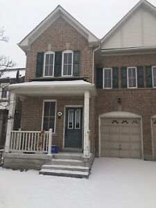 3 Bedroom 3 Bath semi detached house for rent in North East Ajax