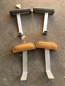 Boat seat arm rests
