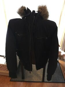 TNA Ladies Winter Parka Size L black
