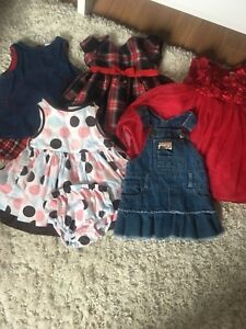 12 month old girls clothing lot- 60 items