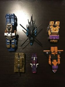 Transformers Takara Unite Warriors Bruticus with Perfect Effect