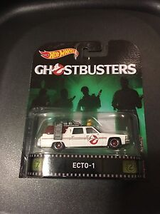 HOT WHEELS GHOSTBUSTERS ECTO-1