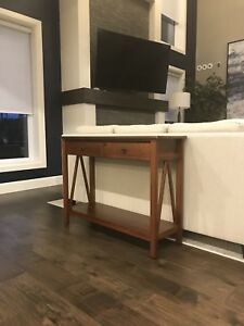 Wooden Console Table/Media Stand