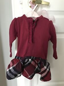 Burberry authentic girls dress size 18 months