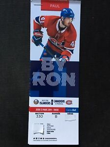 Habs tickets (2 pairs)