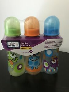 NEW: Baby Works 0+ Months Bottles (3 in a pack)