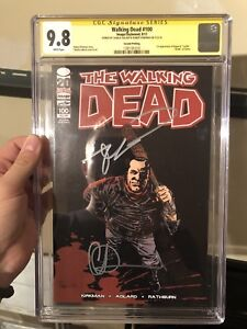 The Walking Dead #100 2nd Print CGC SS 9.8
