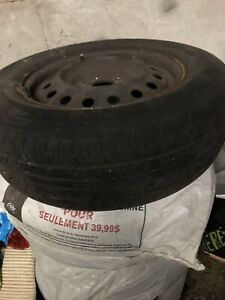 Summer tires with rims: 225/65R16