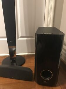SURROUND SOUND SYSTEM (LG) working condition for $100- MARKHAM
