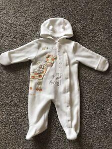 12 month fleece snow suit