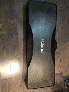 Roland keyboard hard case (flight case)