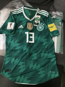 2018 World Cup Germany Green Jersey #13 Muller Large