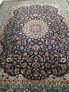 Persian Hand Knotted Kashan Rug