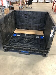 Large plastic totes for storage