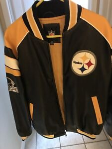 New Large Pittsburgh Steelers Jacket For Sale!
