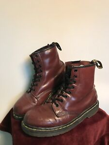 DC MARTENS 8-9 used red