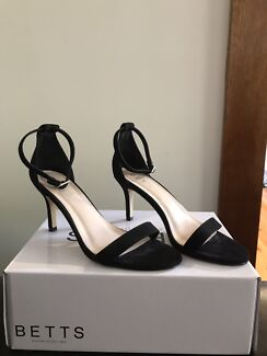 Betts Ebony Stiletto - Black Size 7