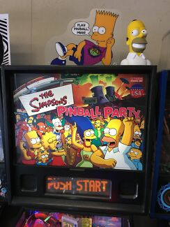 THE SIMPSONS PINBALL PARTY PINBALL MACHINE BY STERN