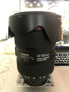 CANON EF 24-105mm f/4L IS ii LENS