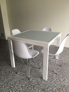 Extending 6 seater dining table - perfect for apartment living Bardon Brisbane North West Preview