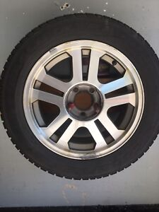 2005-2009 Mustang rims with winter tires