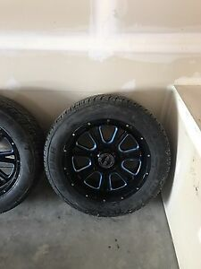 Vision rims and cooper tires for sale