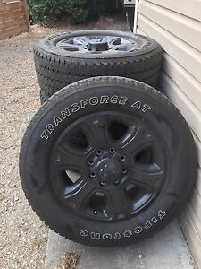 Dodge Ram 3500 rims and tires