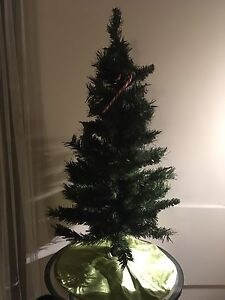Mini Christmas Tree with Removable Matching Skirt