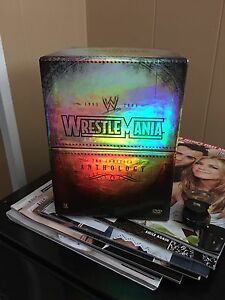Wwe wrestlemania collection on DVD