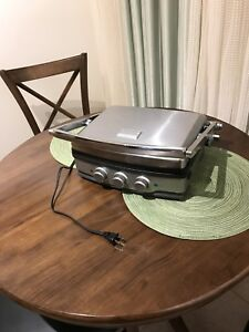 Fridgidaire panini press/griddle/grill