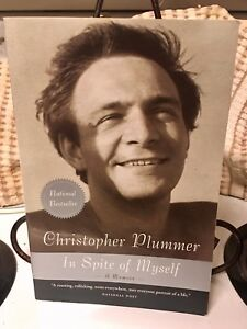 Christopher Plummer - In Spite of Myself (autographed) (c) 2008