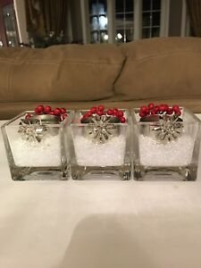3 TEA LIGHT CANDLES