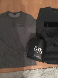 2 Mens X-Large brand new with tags shirts