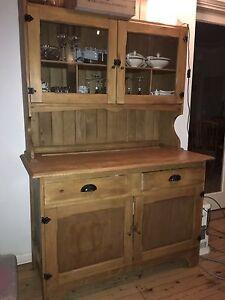 Pine kitchen cabinet / hutch Mosman Mosman Area Preview